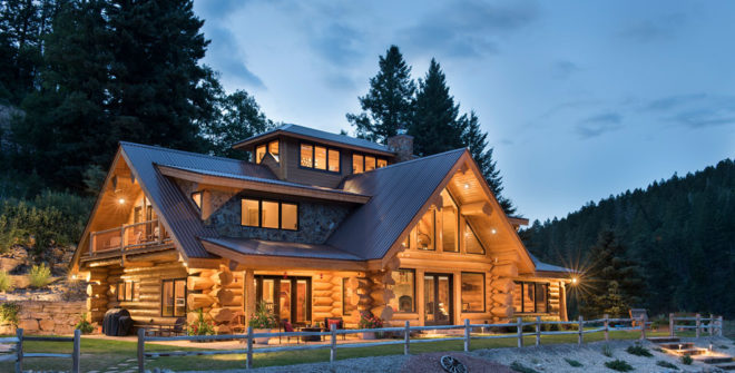 How Log Homes Are Built